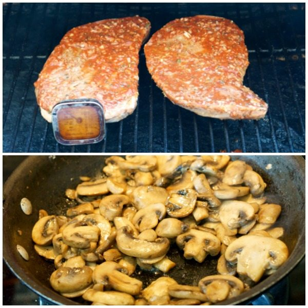 Step 4 of how to make Grilled Steak Marsala