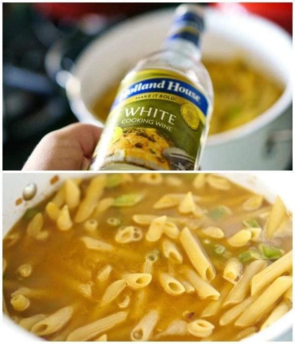 Making One Pot Cajun Pasta recipe step 2