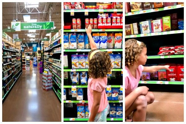 Shopping at Fry's for Horizon Organic back-to-school lunches