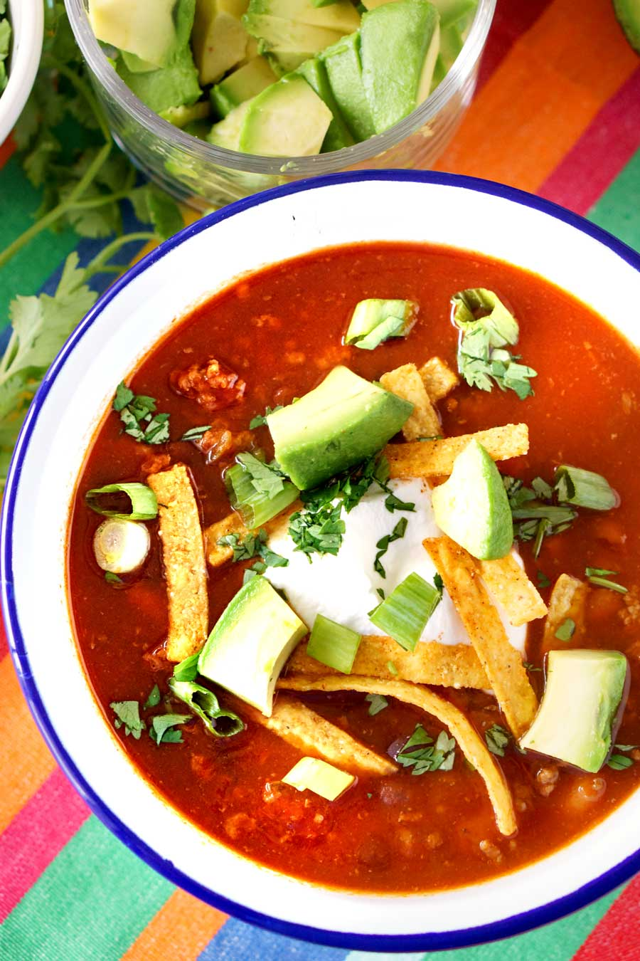 SLOW COOKER TACO SOUP FOOD FOLKS AND FUN