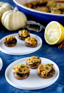 Stuffed Mushrooms: an easy appetizer