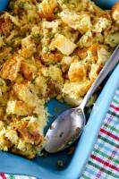 Best Savory Bread Pudding recipe