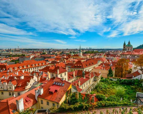 Beautiful views of Prague