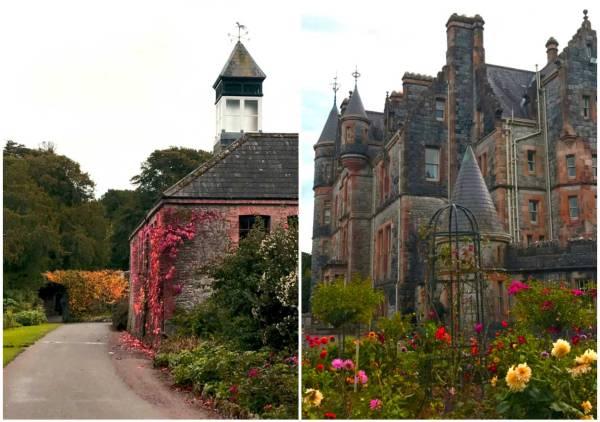The beautiful Blarney Castle grounds.