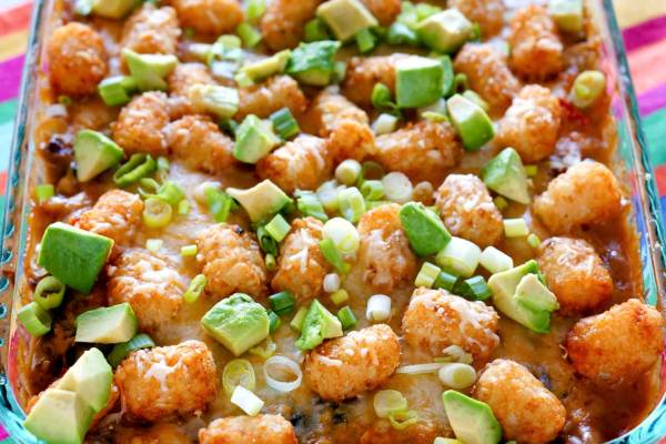 This Tater Tot Casserole is some serious comfort food!