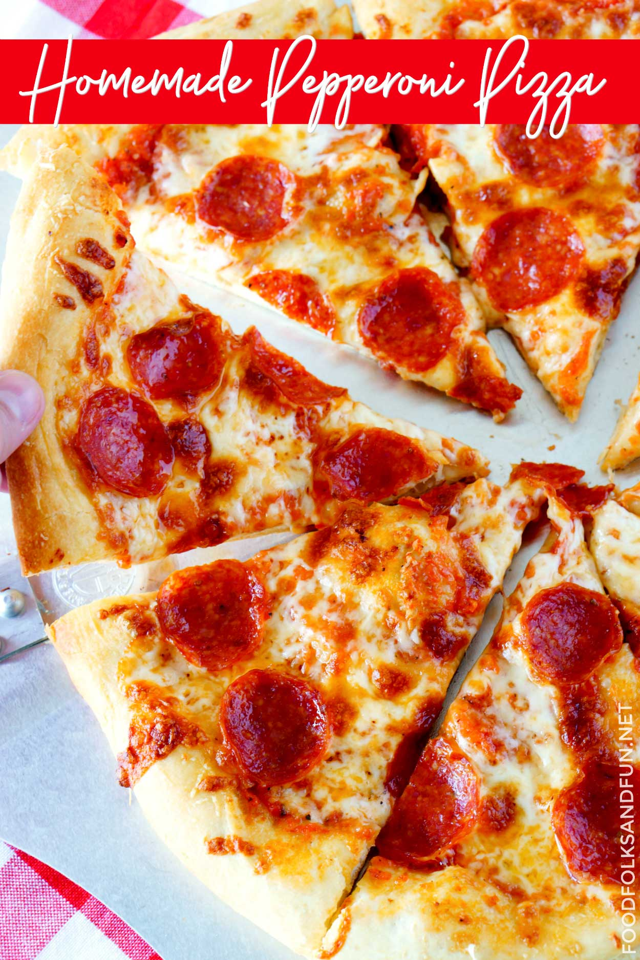 Best-EVER homemade pizza recipe!