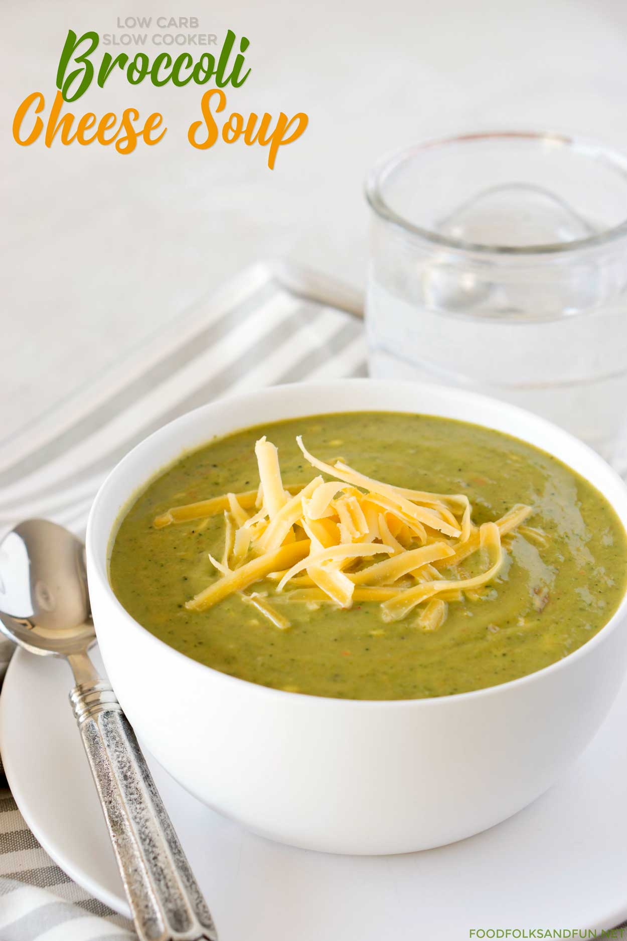 Best Low Carb Broccoli Cheese Soup