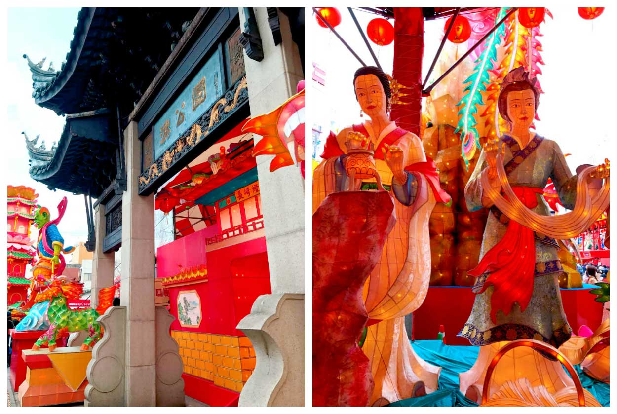 Amazing lanterns at Nagasaki Lantern Festival