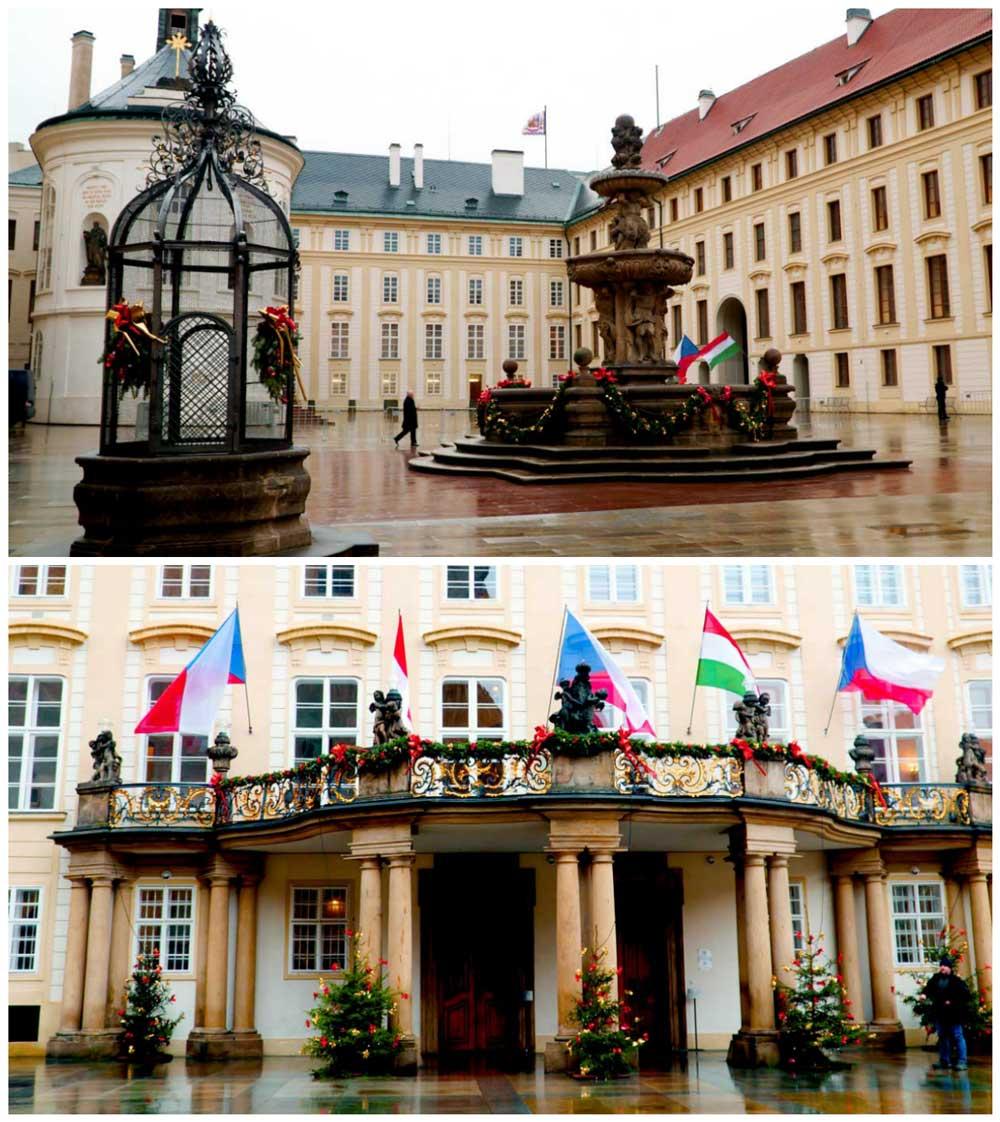 Prague Castle Complex Grounds
