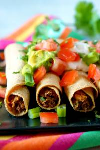 Easy Taquitos recipe.