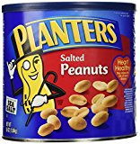A can of salted peanuts