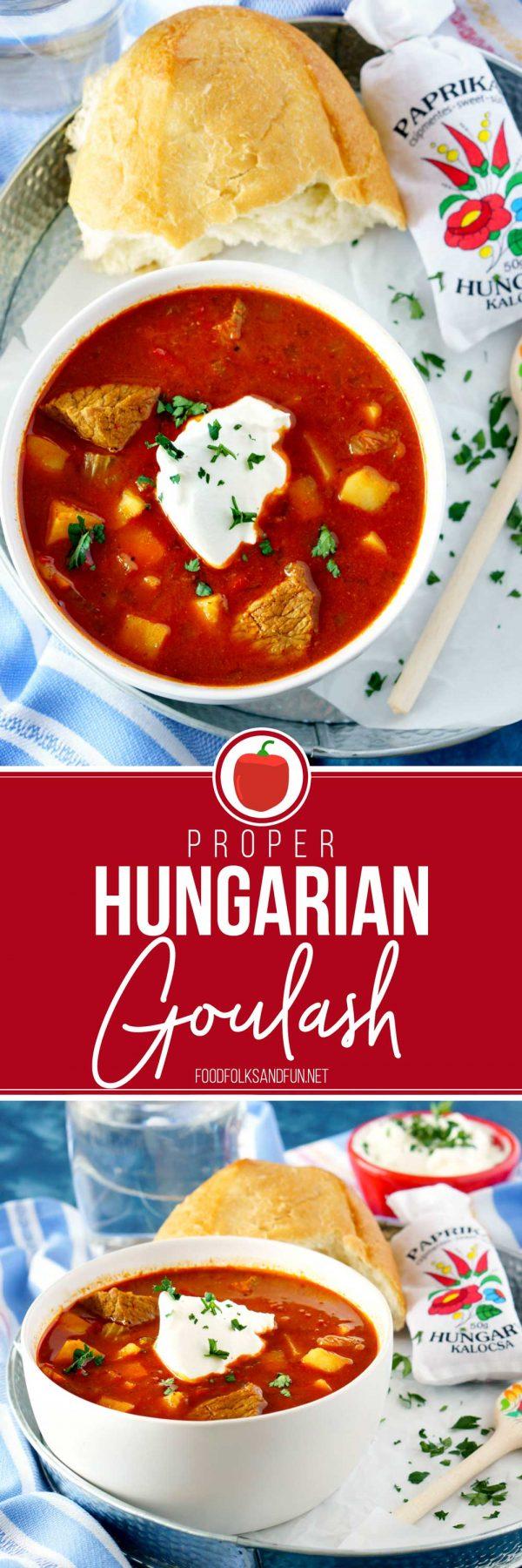 The Best Hungarian Goulash recipe!
