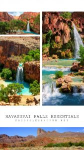 Havasupai Falls essential information for the BEST. TRIP. EVER.