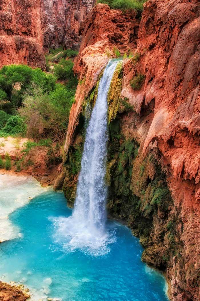 Amazing Havasupai Falls Arizona
