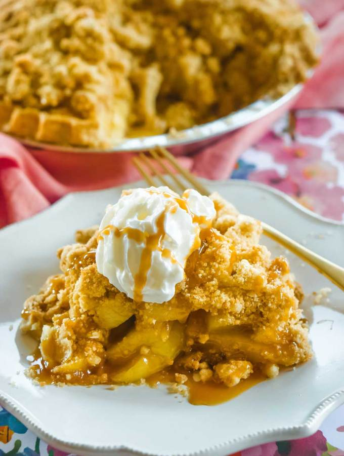On Thanksgiving I have the good intention of having cool of my recipes planned out precisely, but somehow I always seem rushed or I fall behind on a recipe or two. To ease my Thanksgiving cooking and baking this year, I came up with the Quick Dutch Apple Pie recipe.