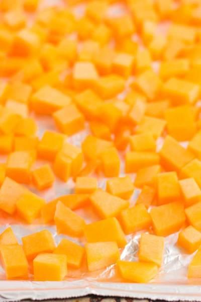 Cubed Butternut Squash