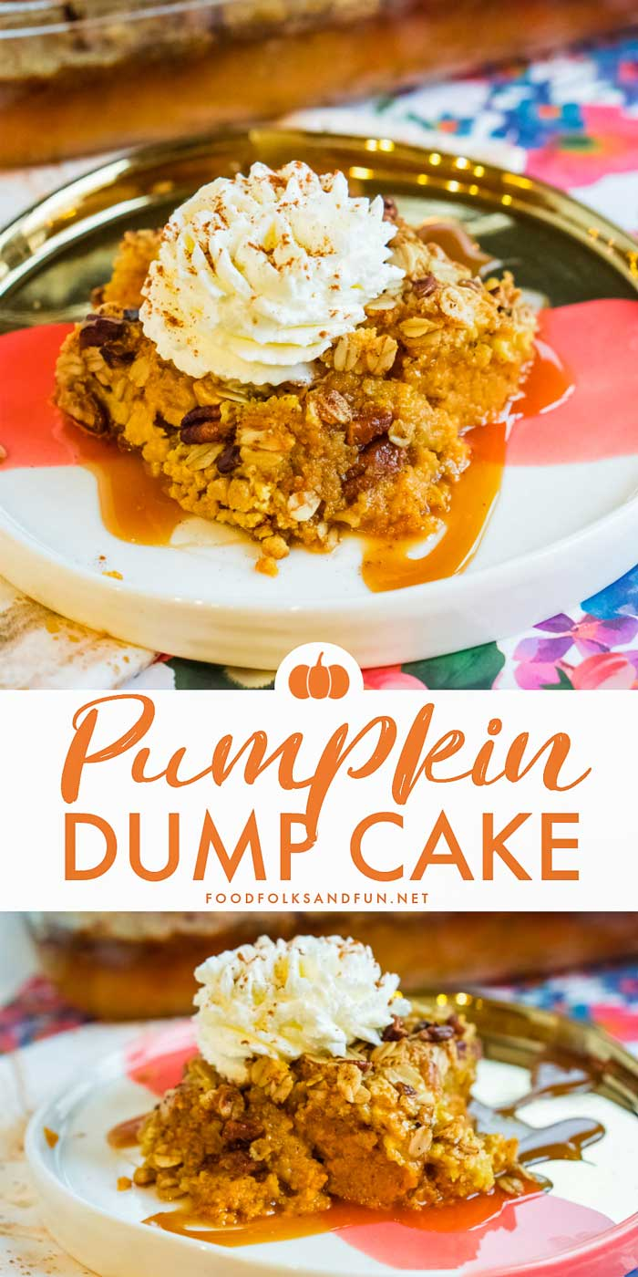 Best Pumpkin Dump Cake