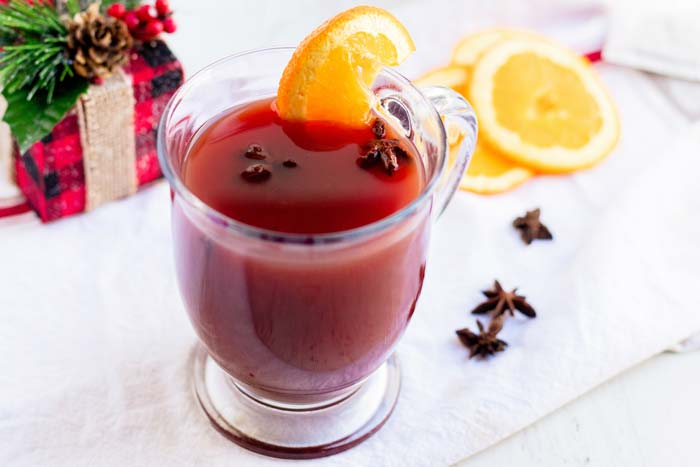 Warm Christmas Punch recipe