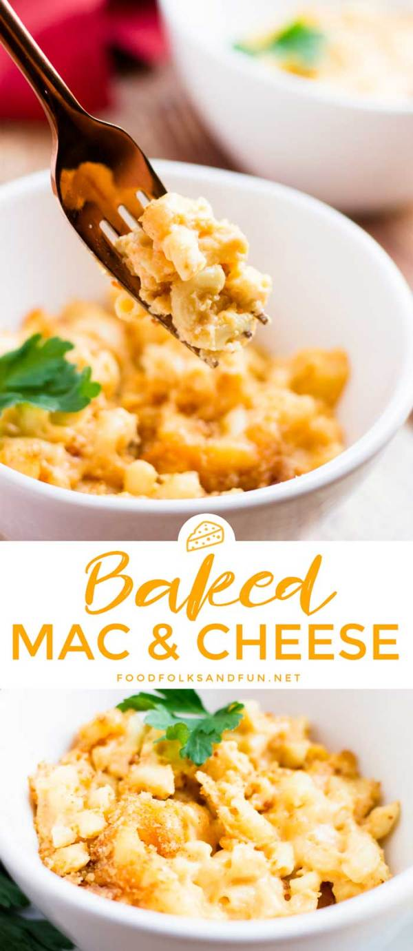 Easy Baked Mac and Cheese recipe
