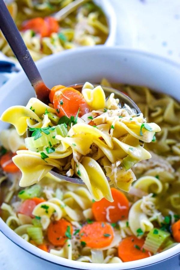 Best Rotisserie Chicken Noodle Soup
