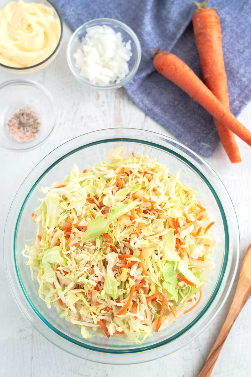 Ingredients for the Best Coleslaw