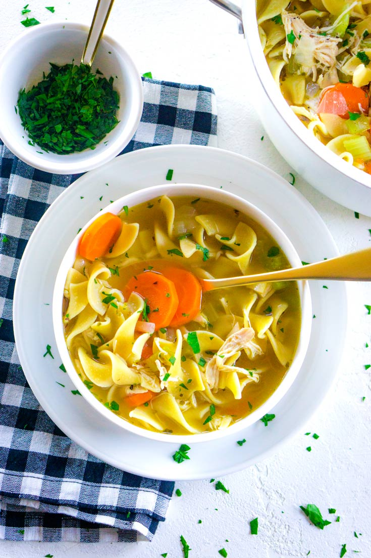 How long will chicken noodle soup keep in the refrigerator