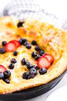 Easy Dutch Baby pancake recipe