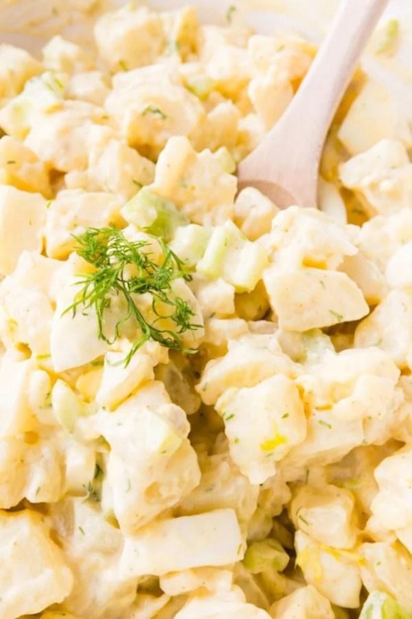 Potato Salad with Hard Boiled Eggs