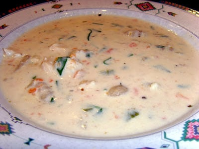 A bowl of Copycat Olive Garden Chicken and Gnocchi Soup