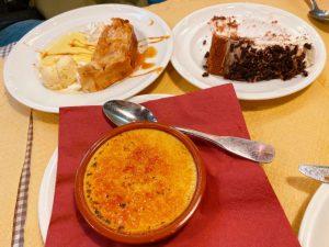 Alsace Creme Brûlée at Le Gruber restaurant in Strasbourg, France.