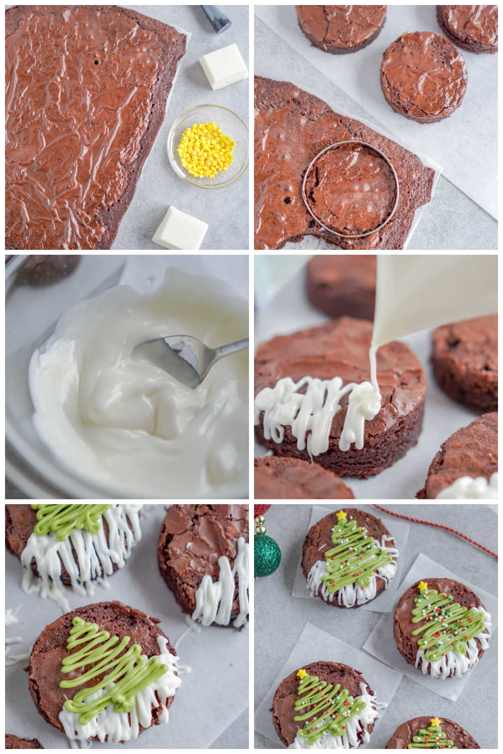 A picture collage of the differnt recipe steps with text overlay for Pinterest.