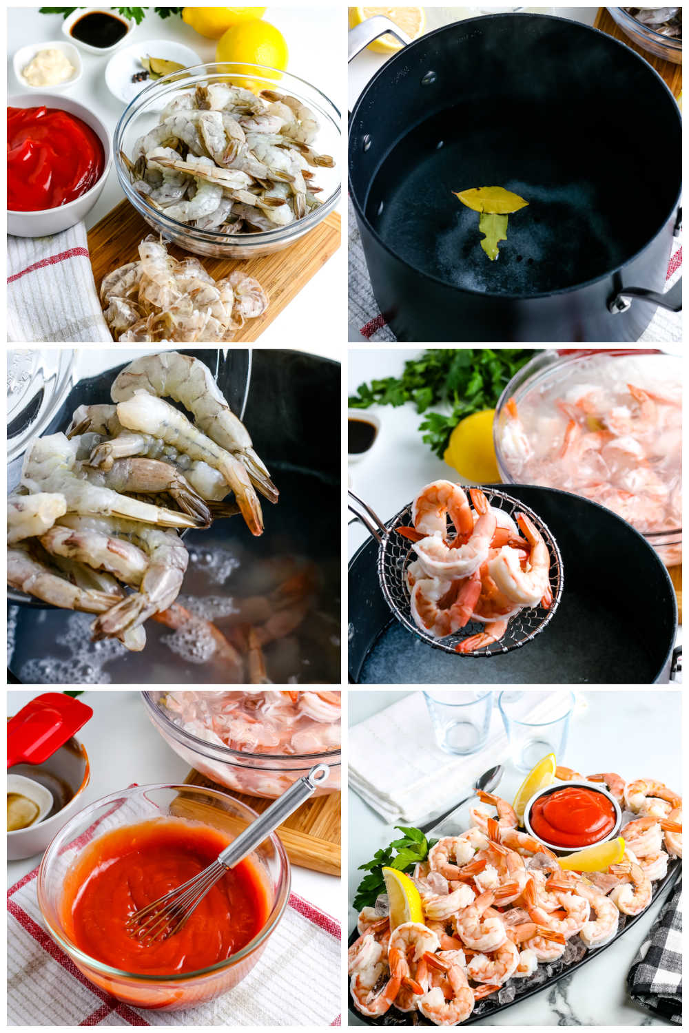 This Shrimp Cocktail and Shrimp Cocktail Sauce recipes are party staples. Making homemade shrimp cocktail is so easy, and it will save you money! via @foodfolksandfun