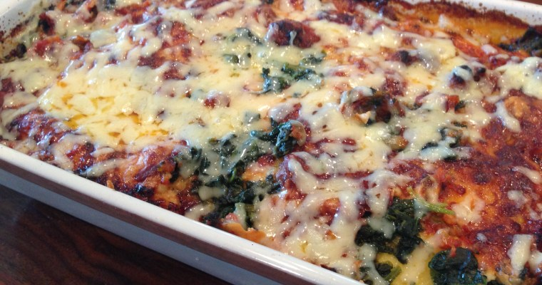 Manicotti dinner at home — on the Busy-EST night of the week??