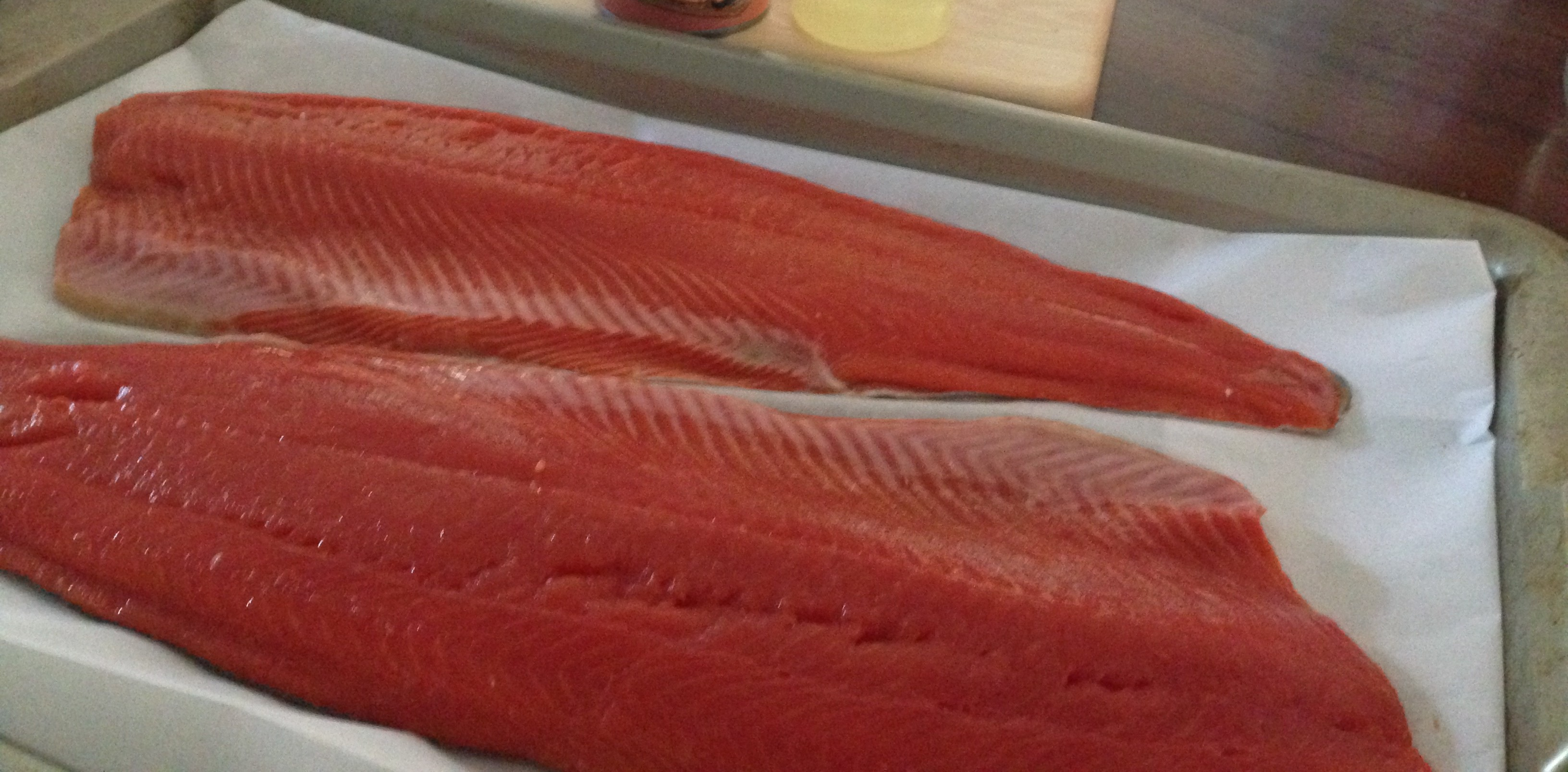 3 Ingredient Fresh Sockeye Salmon Dinner!!