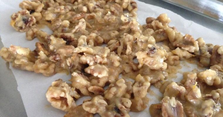 Dear Alice, and a recipe for Orange Candied Walnuts
