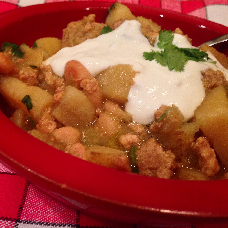 Turkey & Potato Chili Verde
