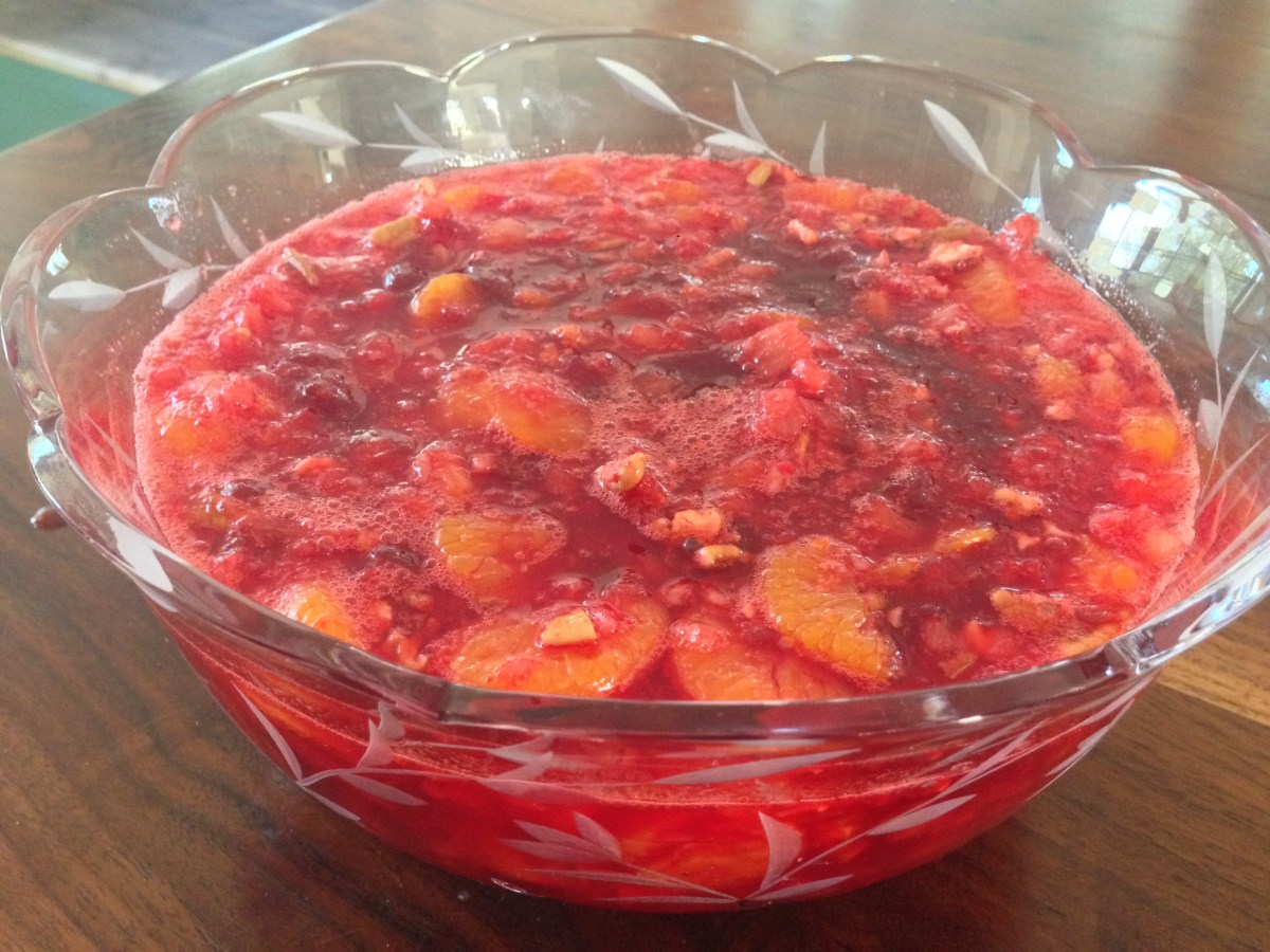 Mom's Simple Cranberry Salad