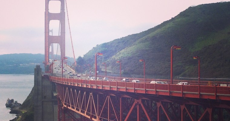 It's a wonderful whirlwind of a tour ((part 2)): The Golden Gate Bridge, Marin County and a Napa Valley Welcome.