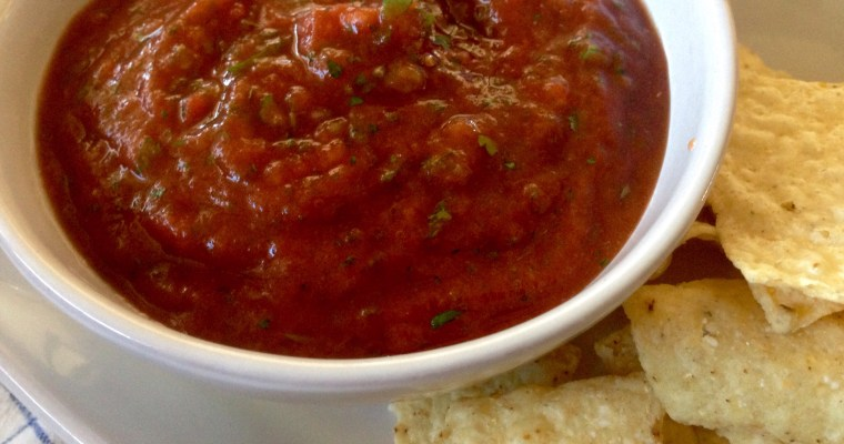 7-Minute DIY Salsa