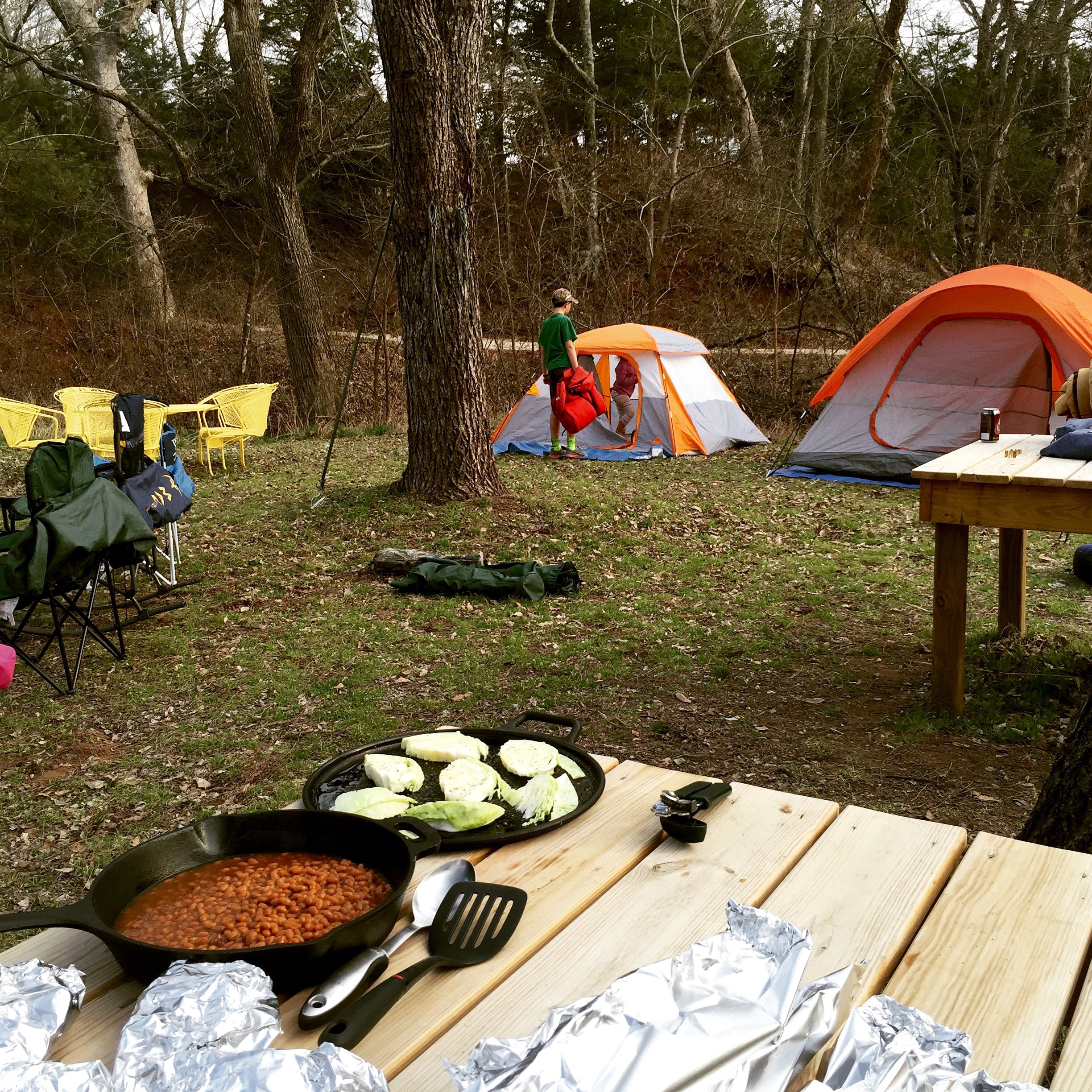Spring Break on the Farm and Campfire Food Galore ((3 Campfire Recipes))