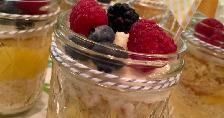 Wedding Cake in a Jar — this will change your life!!