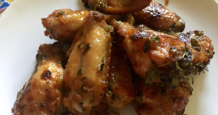 Spicy & Sweet: Sriracha, Brown Sugar & Garlic Wings