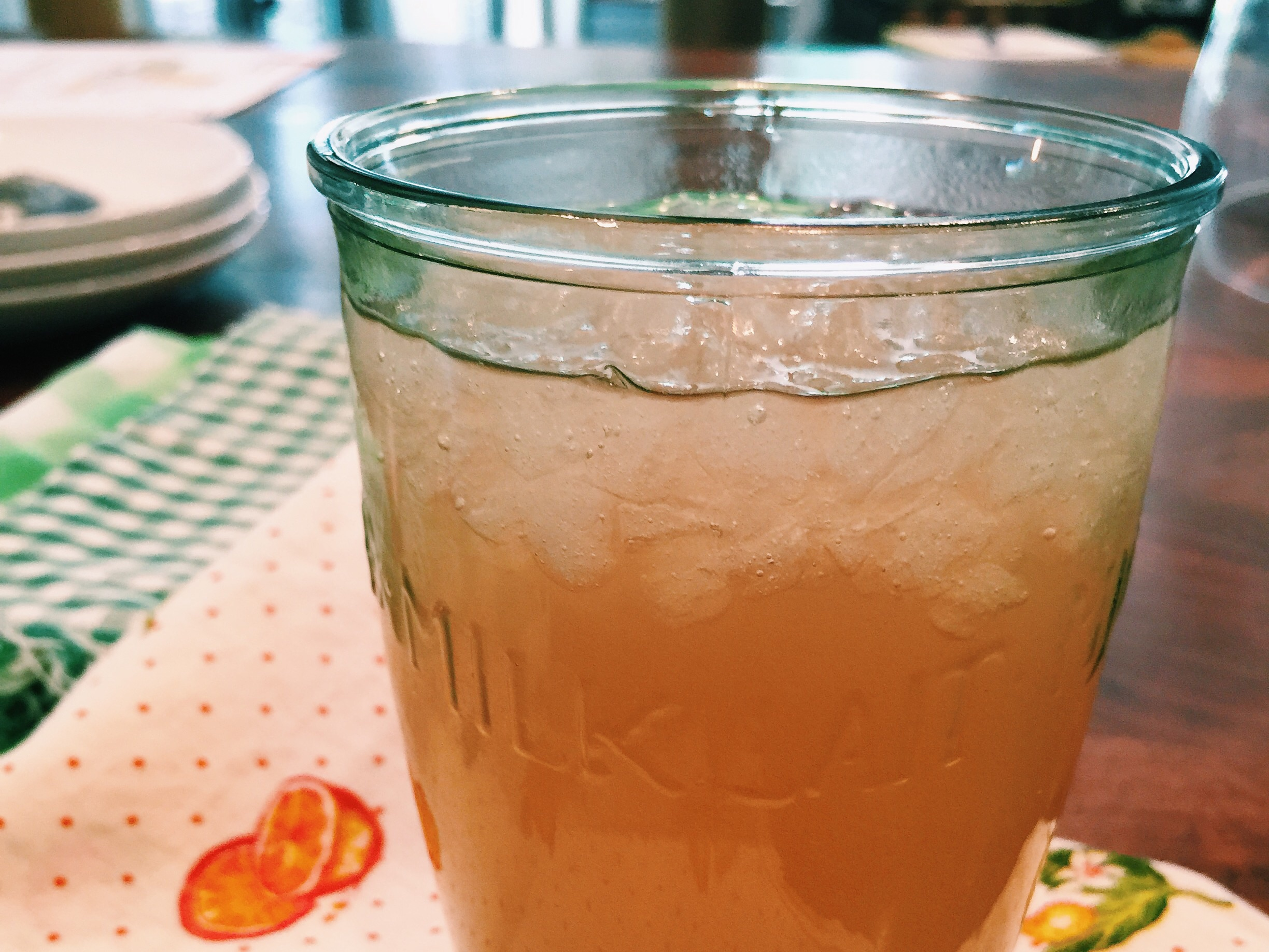 Miss Angie's Almond Sweet Tea ((aka Ladies' Party Punch))