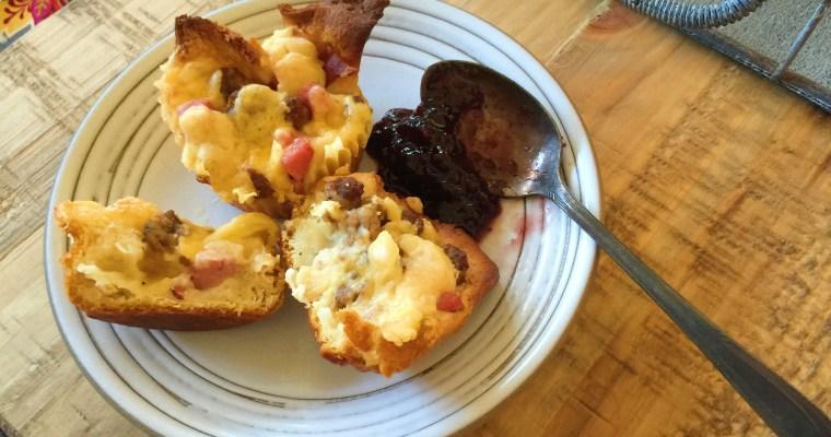Cheesy 3-Meat Breakfast Cups