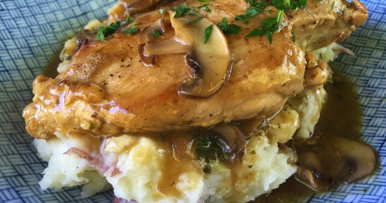 An Okie Girl's Take on Chicken Marsala