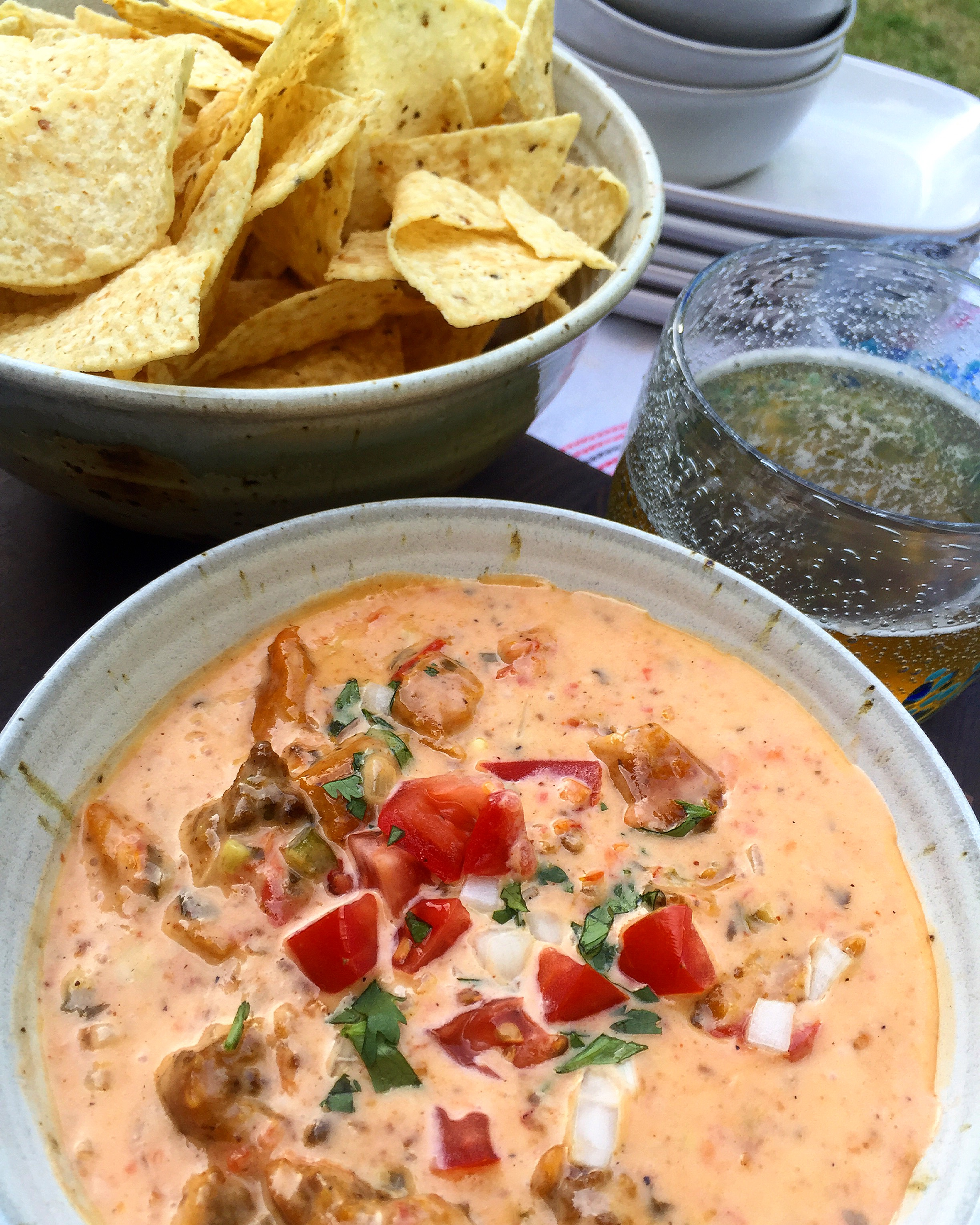 Game Day Queso – a FFAY recipe for Sinkology