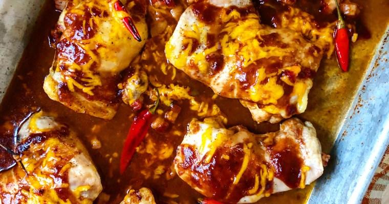 4-Ingredient Sheet Pan Monterey Chicken