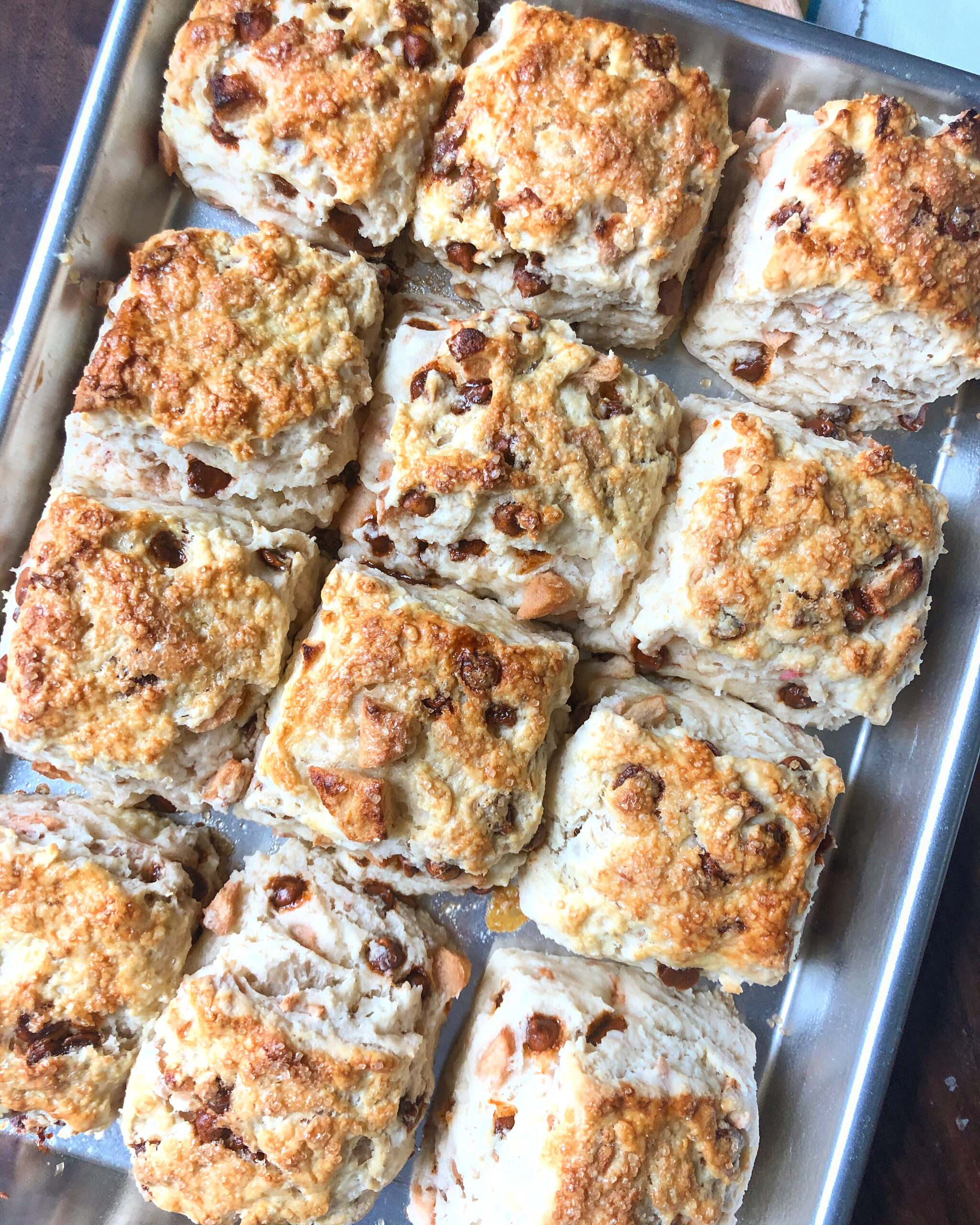 The Perfect Apple Cinnamon Biscuit