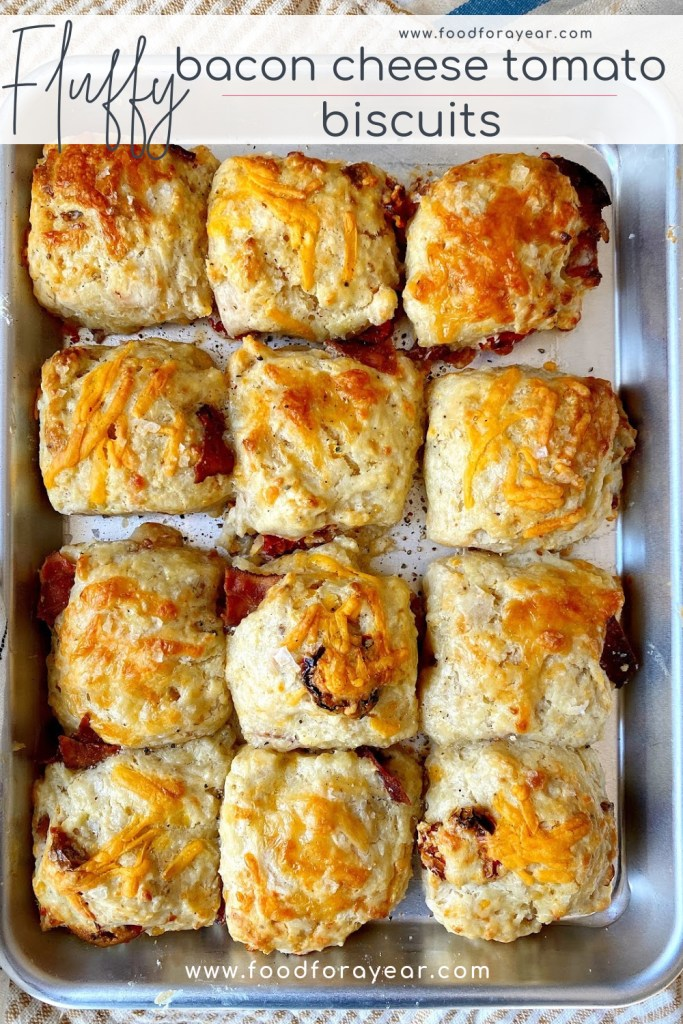 pinable image cheddar bacon biscuits
