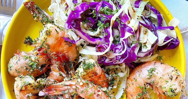 Mojito Grilled Shrimp